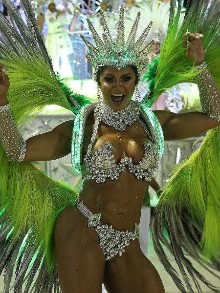 Desfile da Imperatriz Leopoldinense - Júlio César Guimarães/UOL