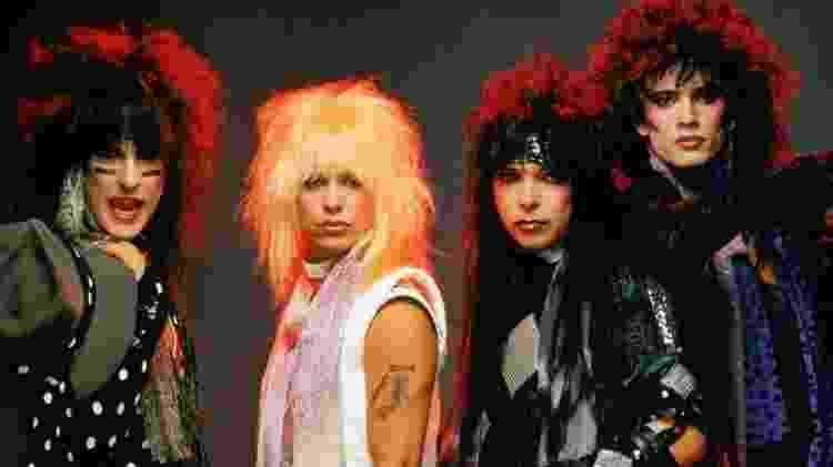 O Mötley Crüe original - Divulgação