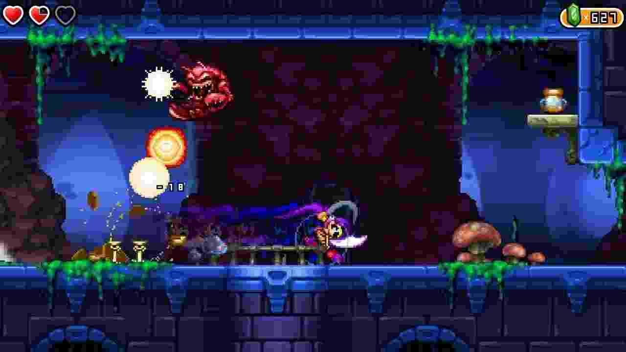 Shantae and The Pirate's Curse - Reprodução