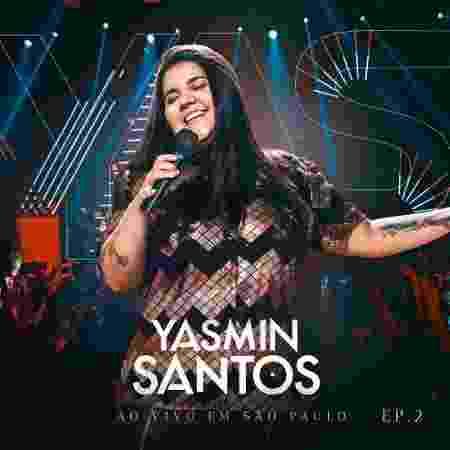 Capa do EP de Yasmin Santos - Divulgação