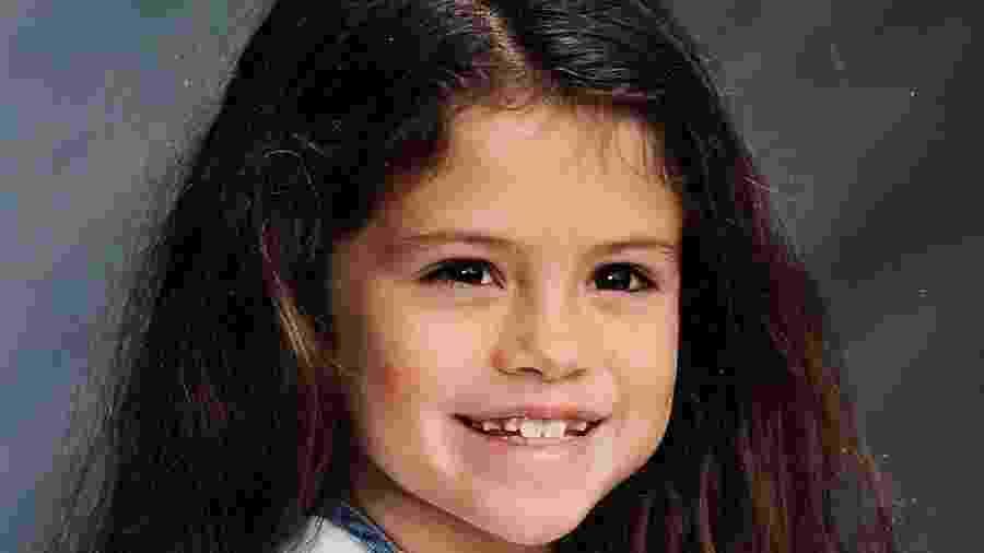 Selena Gomez publica foto de quando era criança - Reprodução/Instagram