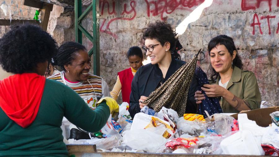 A publicitária Adriana Tubino, 41, e a designer e estilista Itiana Pasetti, 33, criaram a Renovada em 2013 - Divulgação