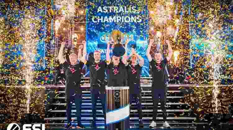 Astralis conquistou o tetracampeonato mundial de CS:GO no StarLadder Berlin Major 2019. - Divulgação/ESL