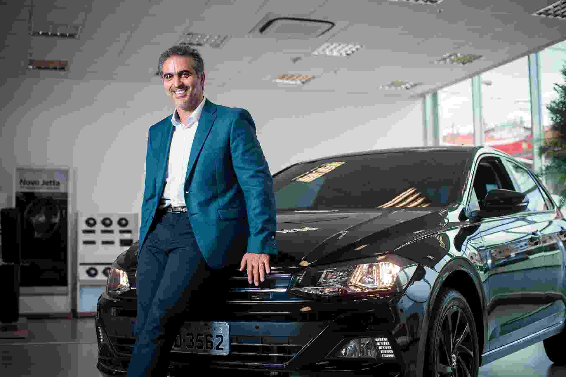Pablo Di Si, presidente da Volkswagen na América Latina - Lucas Seixas/UOL