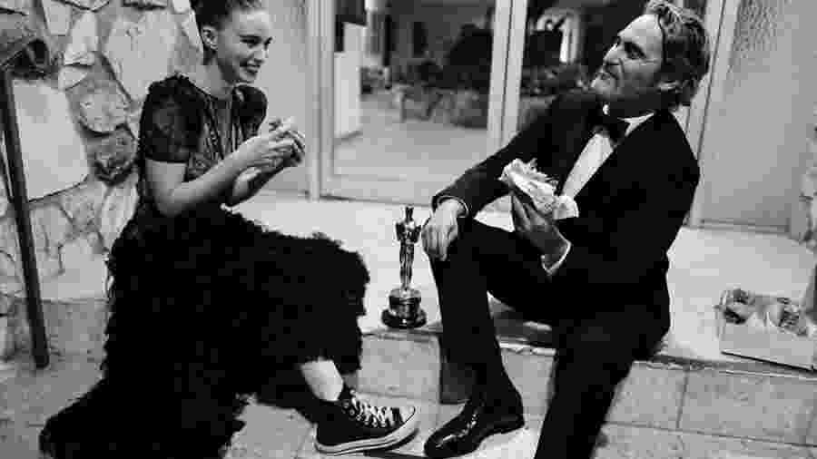 Joaquin Phoenix e Rooney Mara  - Reprodução/Instagram/@gregwilliamsphotography