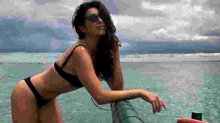 Fernanda Paes Leme em Salvador (BA) - Reprodução/Instagram