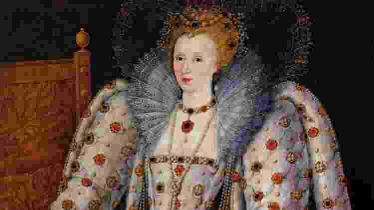 Pintura da Rainha Elizabeth I da Inglaterra - Reprodução - Reprodução