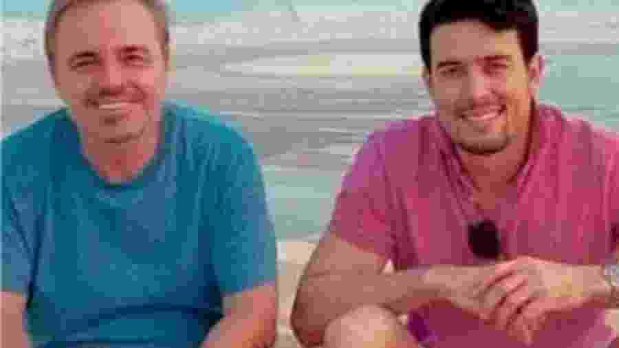 Thiago Salvático e Gugu Liberato - Reprodução/Instagram