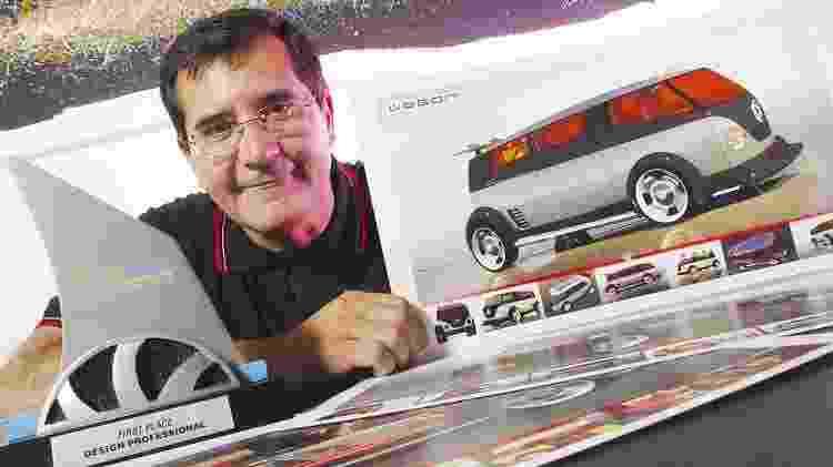 Luiz Alberto Veiga, ex-designer da VW - Divulgação - Divulgação