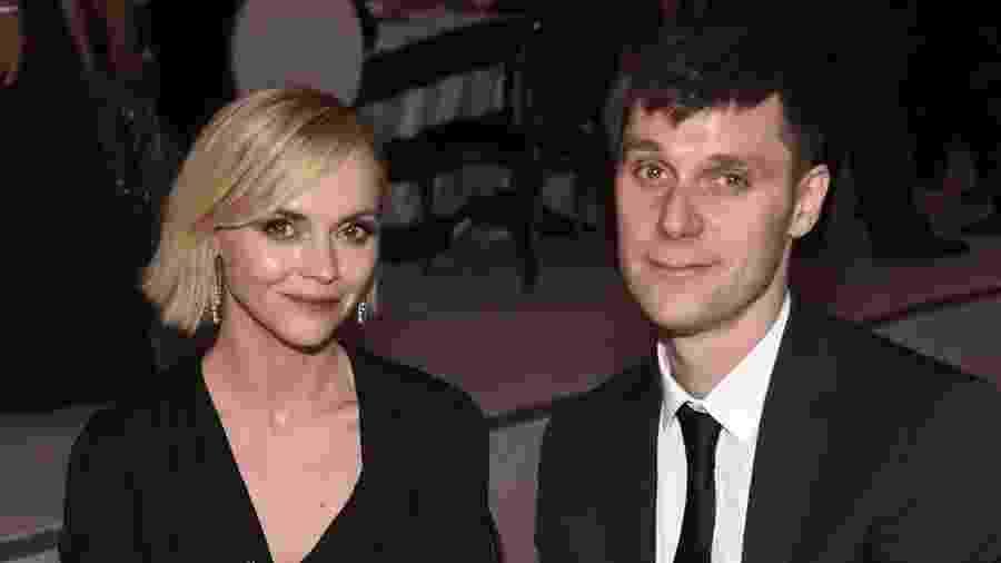 Christina Ricci e marido - Reprodução
