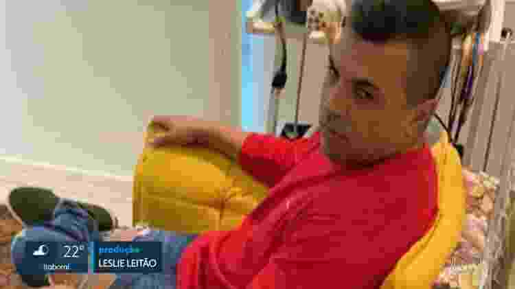 Leonardo Pimentel durante prisão em seu consultório; ele é acusado de estupro por Felizardo e outras 3 mulheres - Reprodução/TV Globo - Reprodução/TV Globo