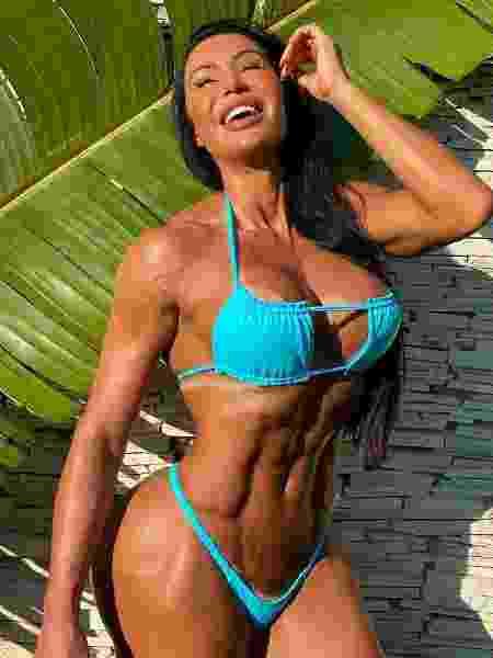 Gracyanne Barbosa afirmou que faz a dieta há 15 anos - Reprodução/Instagram