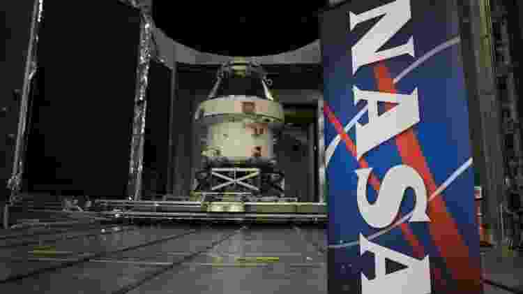 Nave espacial Orion vista durante evento Nasa Unveil - Getty Images - Getty Images