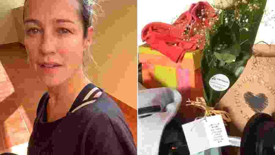 Luana Piovani ganha flores de admirador - Reprodução/Instagram