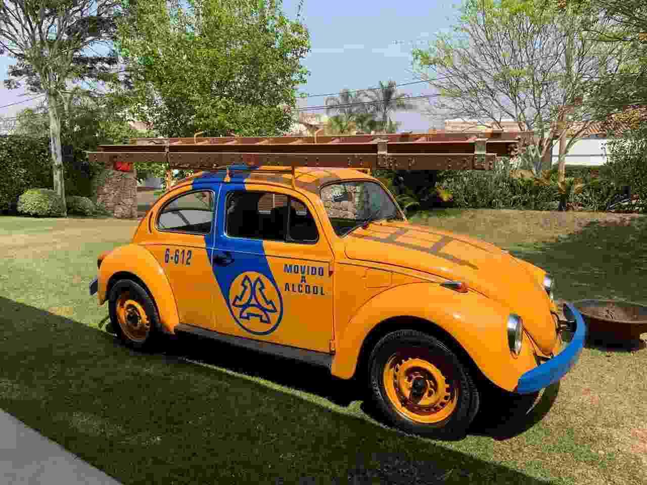 Volkswagen Fusca da Telesp Alexandre Badolato - Arquivo pessoal