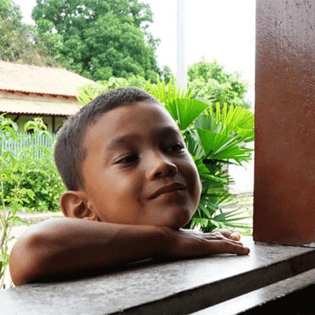 Criança em uma das comunidades afetadas pela Alcoa - Thaís Borges