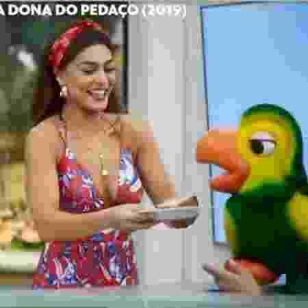 """Louro José participou da novela """"A Dona do Pedaço"""" com Juliana Paes e Ana Maria Braga em 2019 - Reprodução/Globo"""