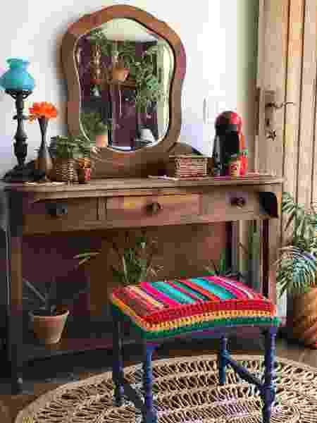 Escrivaninha na sala de jantar - Arquivo Pessoal - Arquivo Pessoal