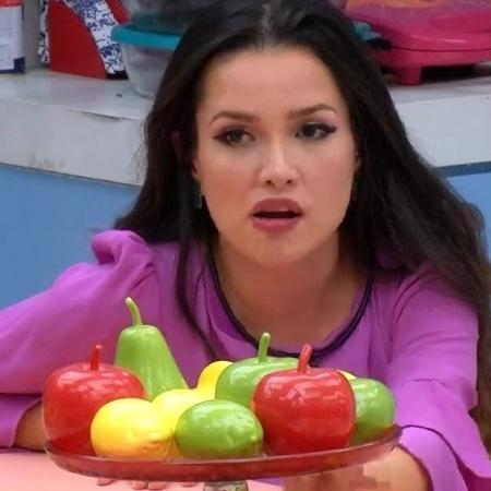 Na treta de Fiuk e Juliette por causa da cobertura, eu sou o bolo - Reprodução/Globoplay
