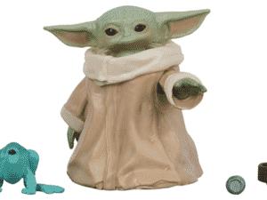 Star Wars The Black Series The Child (Baby Yoda) The Mandalorian Figura de 3,04 cm da série The Mandalorian - F1203 - Hasbro - Divulgação - Divulgação