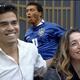 Power Couple: Marido de Dani Hypólito tem estranha obsessão pela Copa de 94 - Reprodução/Playplus/Montagem