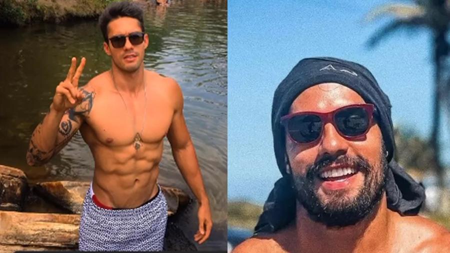 Bil Araújo, o Arcrebiano, mostra antes e depois dos procedimentos estéticos - Reprodução/Instagram