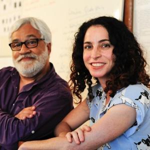 """Paulo Halm e Rosane Svartman, autores de """"Totalmente Demais"""" - Estevam Avellar/TV Globo"""