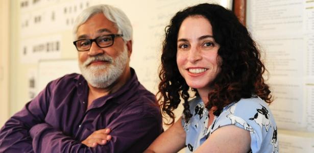 """Os autores Paulo Halm e Rosane Svartman são os autores de """"Totalmente Demais"""", próxima novela das 19h - Estevam Avellar/TV Globo"""