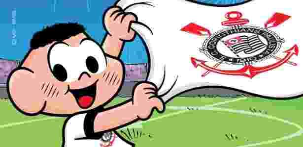 Cascão comemora o título do Corinthians em desenho divulgado por Mauricio de Sousa - Divulgação
