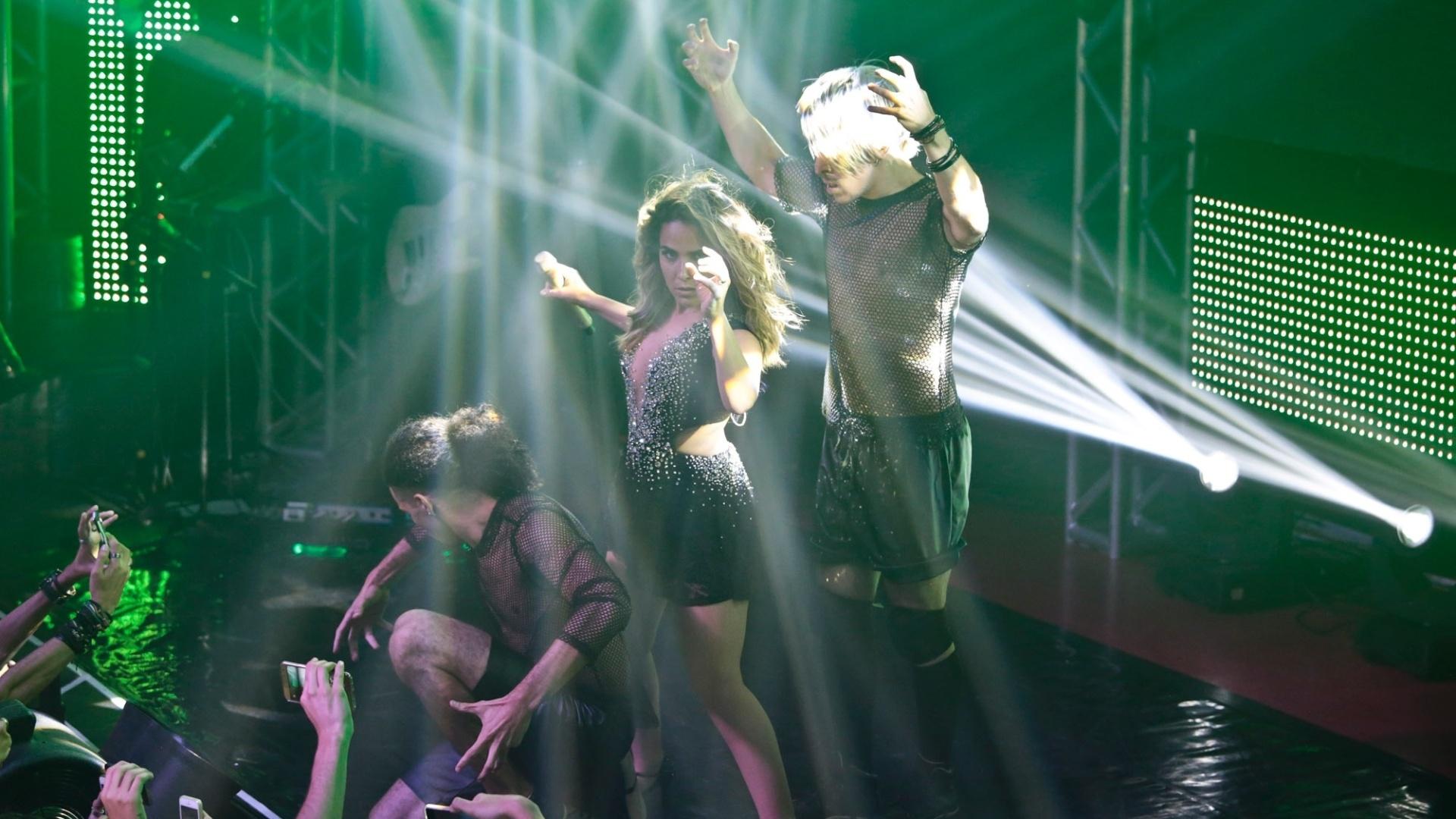 16.jan.2016 - Wanessa abre temporada de shows com apresentação na casa noturna Flexx Club, em São Paulo
