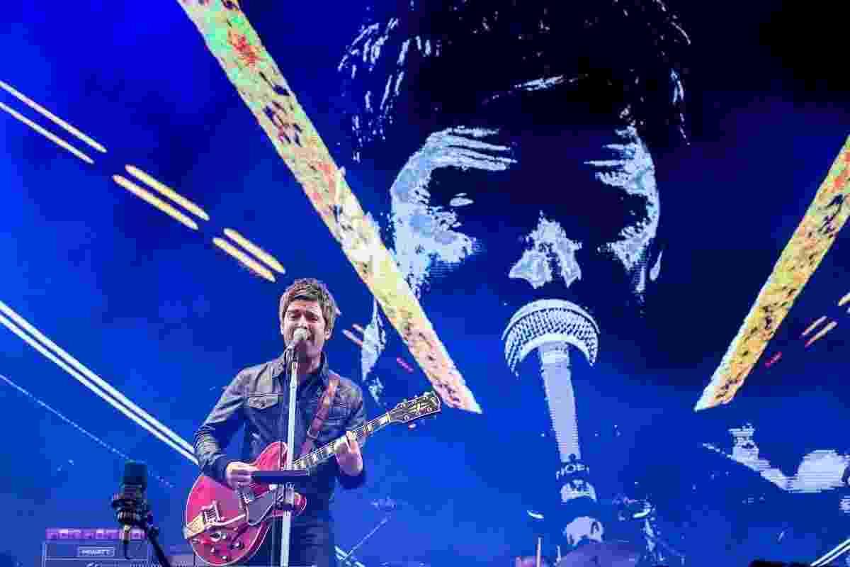 13.mar.2016 - Show do Noel Gallagher's High Flying Birds no palco Skol no segundo dia do Lollapalooza Brasil 2016 - Manuela Scarpa e Rafael Cusato/Brazil News