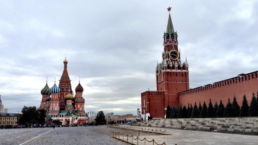 Praça Vermelha, em Moscou - Marcel Vincenti/UOL