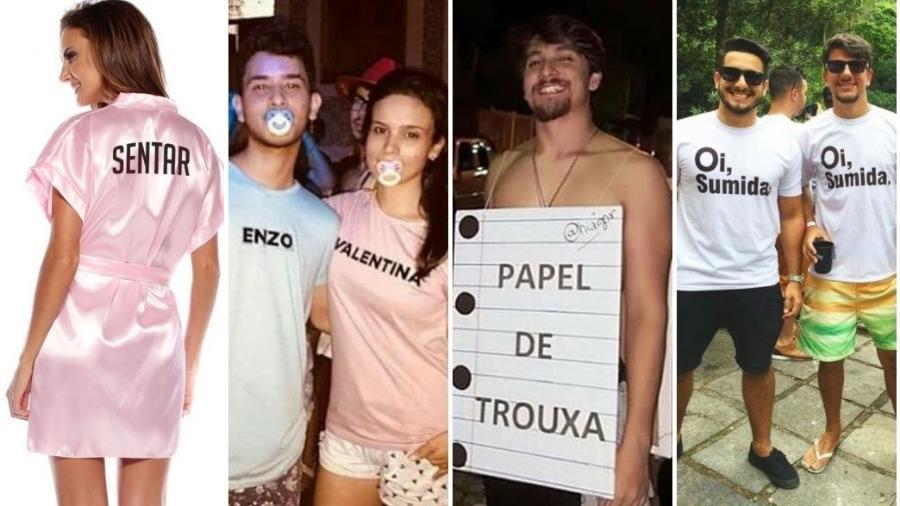 Fantasias para o Carnaval - Montagem/UOL