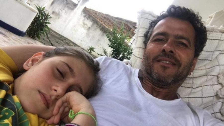 Marcos Palmeira com a filha, Julia Mautner - Reprodução/Instagram/marcospalmeiraoficial