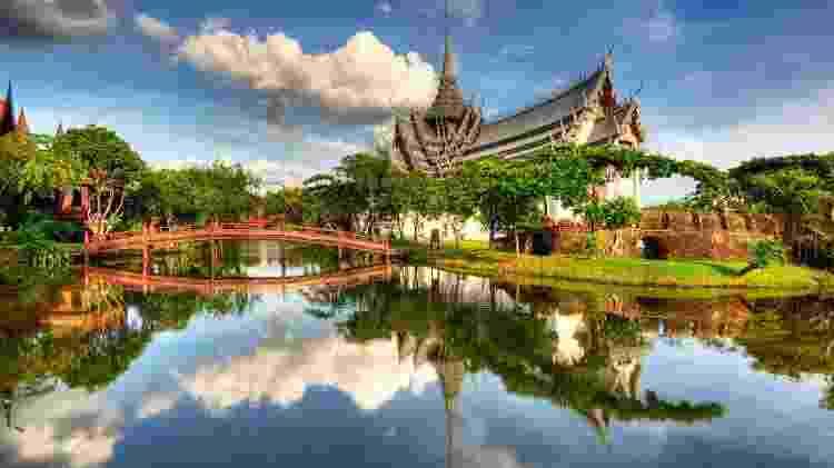 O palácio Sanphet Prasat, na Tailândia - Getty Images