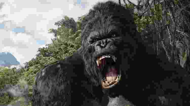 """Cena do filme """"King Kong"""", de 2005, dirigido por Peter Jackson - Reprodução - Reprodução"""