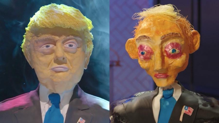 Vai um bolinho de Donald Trump aí? - Reprodução