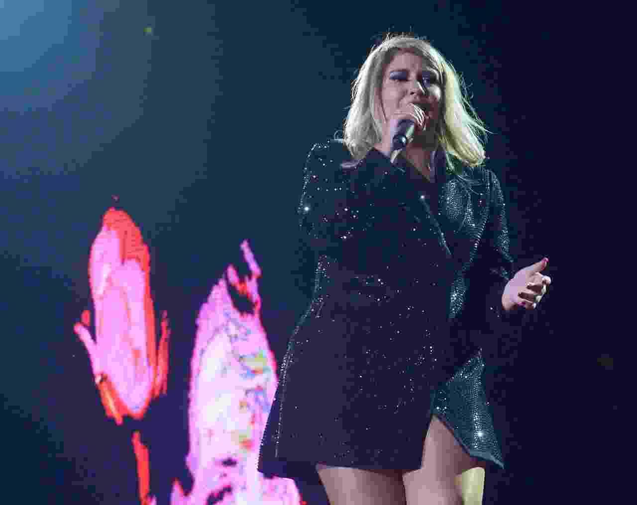 Marília Mendonça cantou em festival realizado em São Paulo - Imagem/AgNews