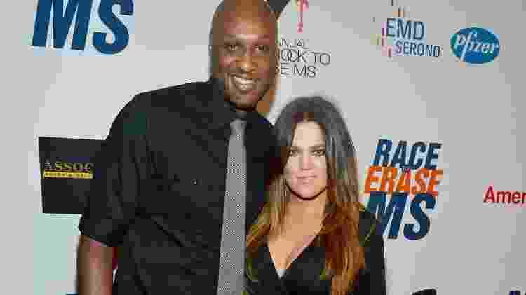 Khloe Kardashian e Lamar Odom - Frazer Harrison/Getty Images - Frazer Harrison/Getty Images