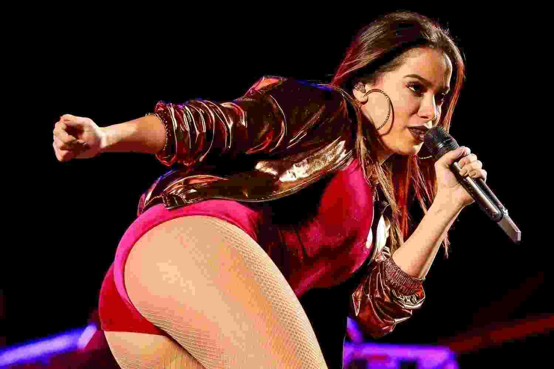 Anitta se apresentou na noite de sábado (8) na 12ª edição do Rodeio de Itu, que aconteceu na Arena Itu (SP). Mais cedo, a cantora confirmou o fim de seu casamento de menos de um ano com o empresário Thiago Magalhães - Manuela Scarpa/Brazil News