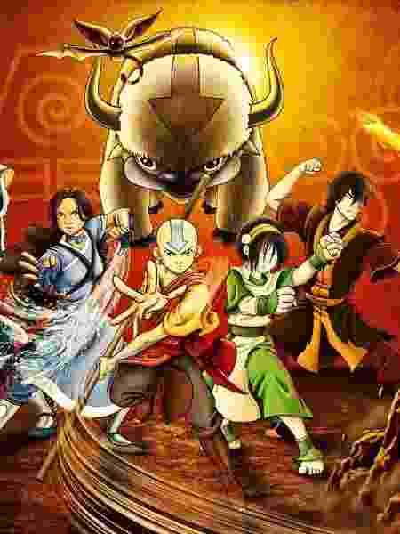 """Cena da animação """"Avatar: A Lenda de Aang"""" - Reprodução"""