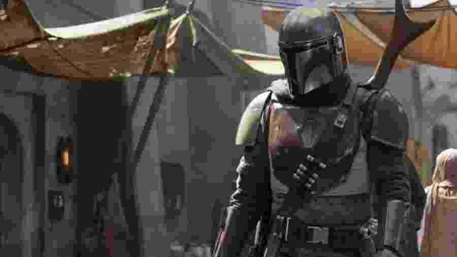 """Cena da série """"The Mandalorian"""", mais um projeto da saga """"Star Wars"""" - Reprodução"""
