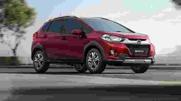 Honda WR-V foi lançado no Brasil em março de 2017 e na essência é um Fit - Divulgação