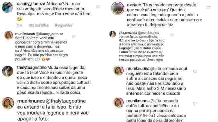 Munik Nunes rebate críticas - Reprodução/Instagram - Reprodução/Instagram
