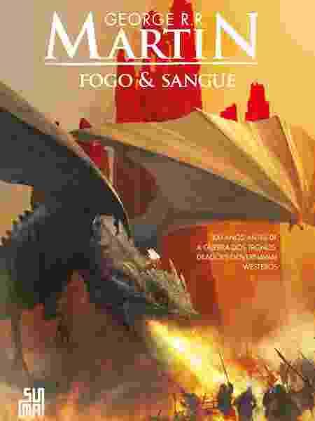 """Capa de """"Fogo & Sangue"""", livro de George R.R. Martin - Divulgação"""