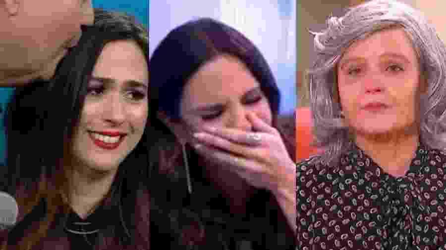 Alguns quadros da TV são feitos com uma única função: fazer chorar - Reprodução Globo/Reprodução/Globo/ Reprodução/SBT/Montagem UOL
