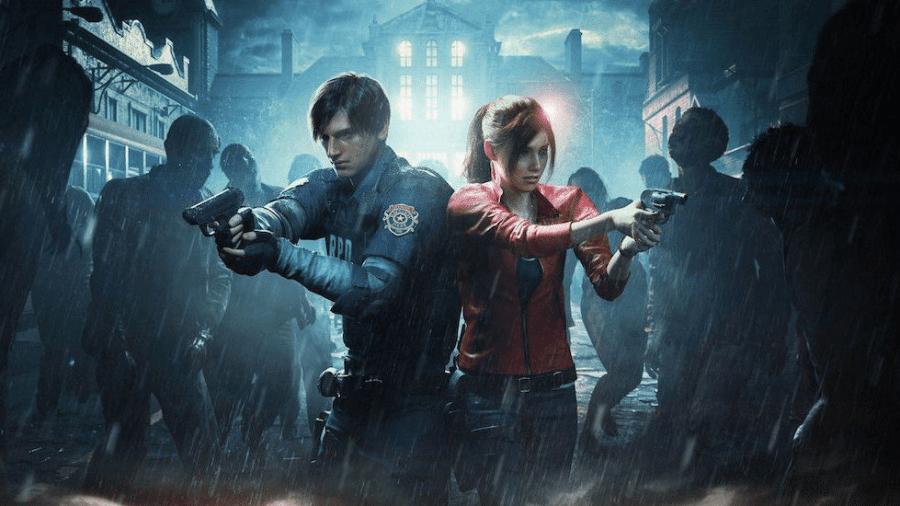 """Arte do game """"Resident Evil 2"""" - Reprodução"""