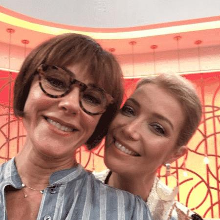 """Christiane Torloni e Luiza Possi no """"Encontro"""" - Reprodução/Instagram"""