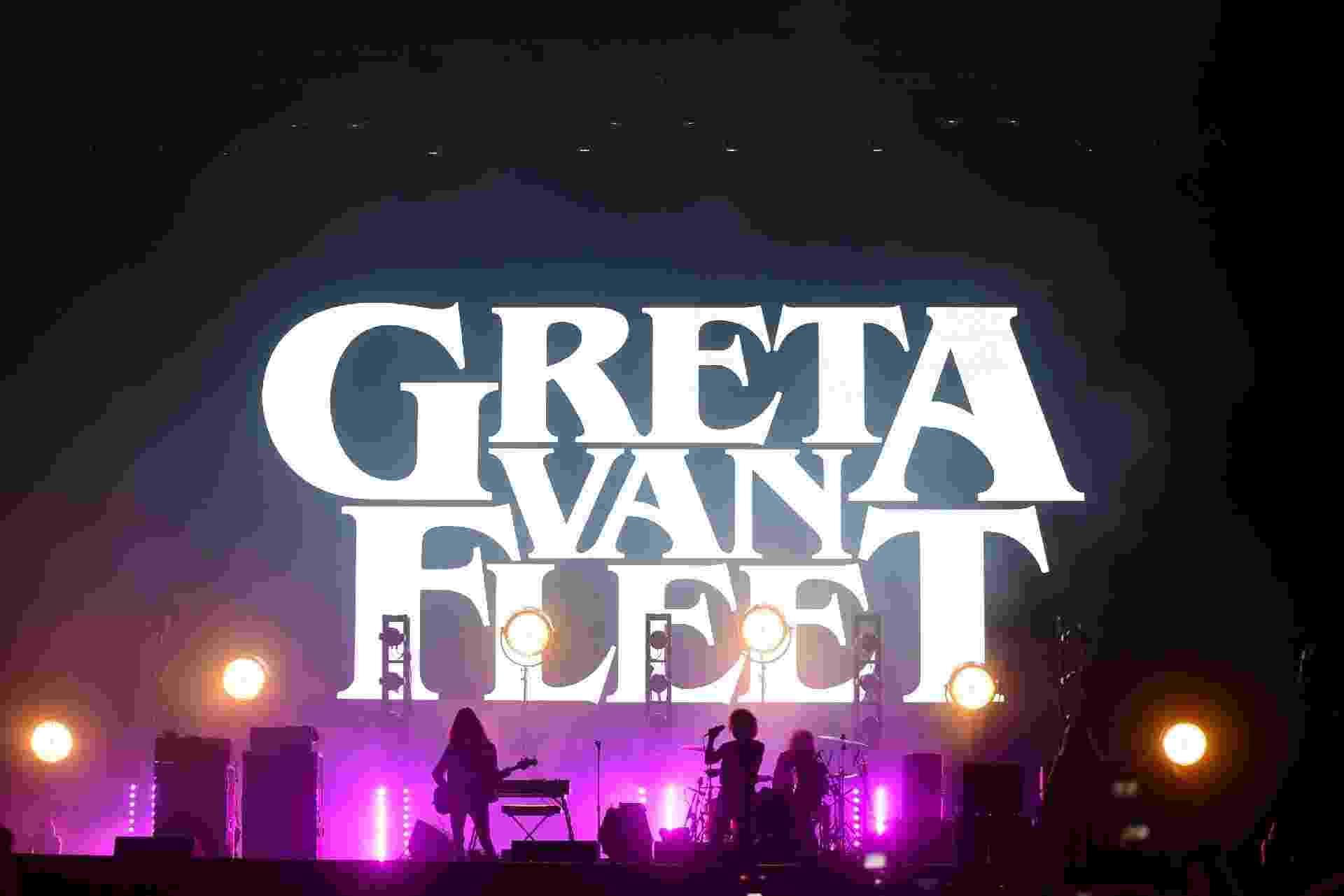 Greta Van Fleet se apresenta no Lollapalooza Brasil 2019 - Flavio Moraes/UOL