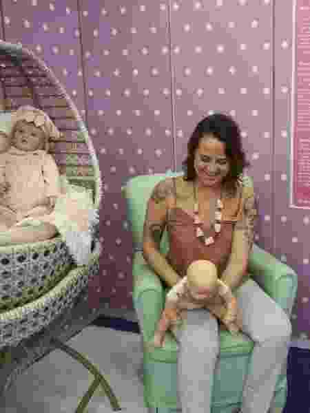 bebê reborn - Gabriela Cais Burdmann/UOL - Gabriela Cais Burdmann/UOL